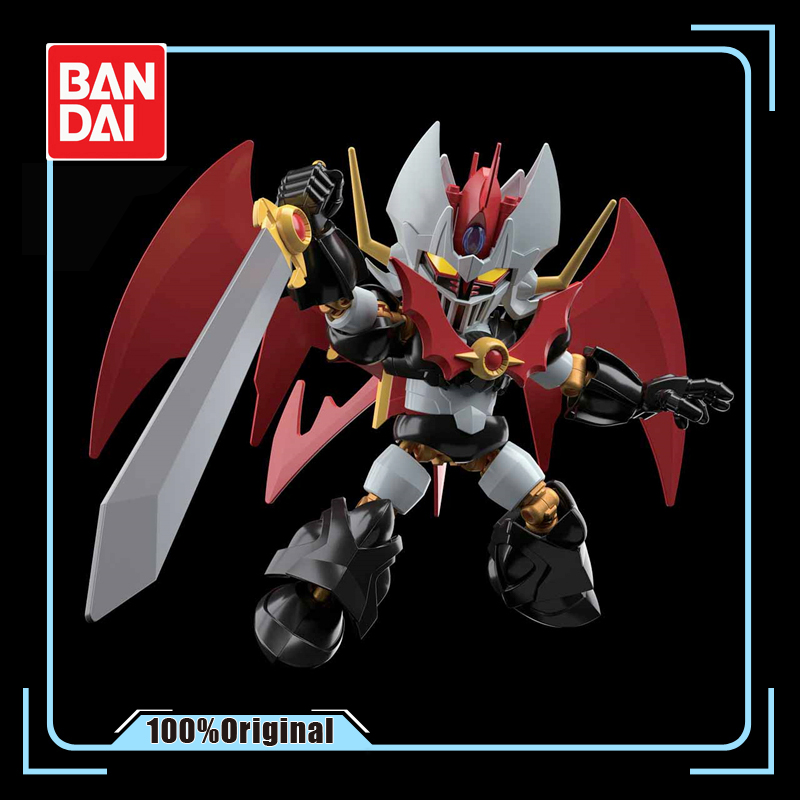 BANDAI <font><b>BB</b></font> SDCS INFINITY Mazinkaiser VS Dark General <font><b>GUNDAM</b></font> Action Figure Model Modification Deformable image