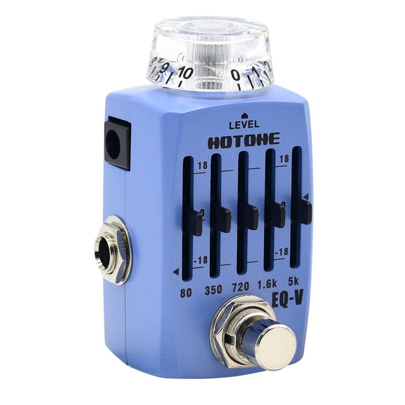 Hotone Skyline Series EQ V Graphic Equalizer Pedal SEQ 1