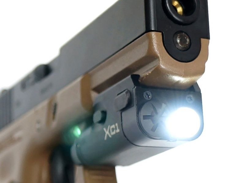 revolver lanterna paintball airsoft militar caca luz arma 05