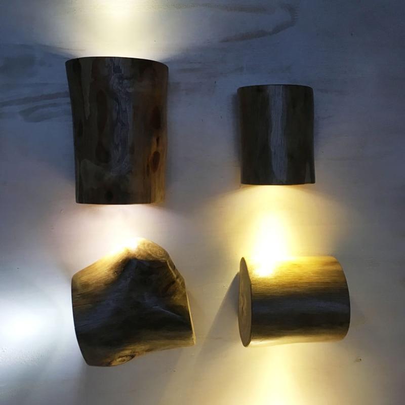 de madeira macica do vintage lampada 3 03