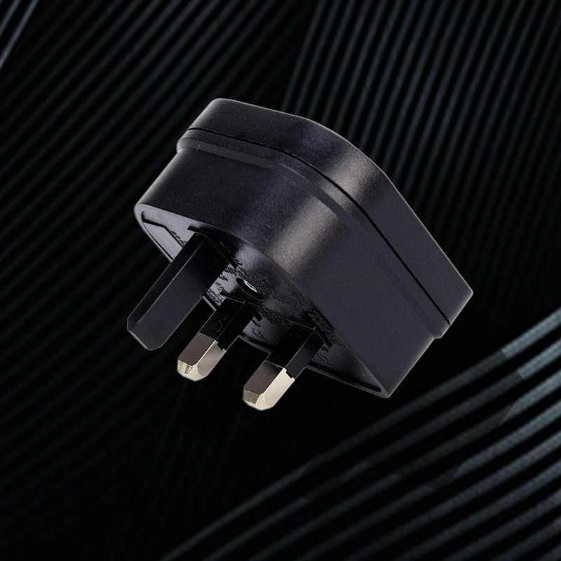 Ue 2Pin do wielkiej brytanii 3Pin gniazdo zasilania wtyczka podróżna Adapter konwerter AC gniazdo zasilania wtyczka ładowarka podróżna uniwersalny Adapter konwerter