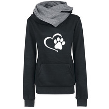 Heart & Paws hooded