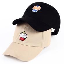 VORON 2017 Durant cake Baseball Caps Curved Chapeau Visor Dad Hats  Casquette Brand Bone Champion Hats db061427b8f1