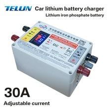 4S 4 string 14,6 V-15 V 20A/30A регулируемое автомобильное зарядное устройство литий-железо фосфат Батарея Солнечный устойчивый ток напряжения 50Ah 100Ah