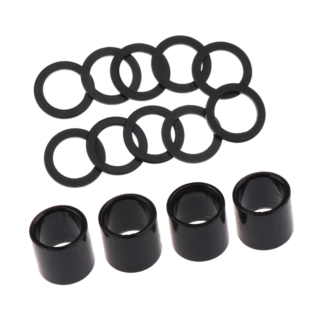14 Pack Skateboard Bearing Spacers Washers Speed Kit, Longboard Repair Rebuild Hardware Truck Axle Washer Speed Rings