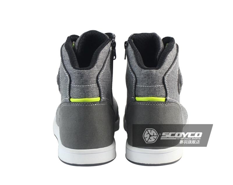100% Original Scoyco Marke Mt016 Motorrad Schuhe Sport Casual Stiefel Männer Motorrad Racing Botas Motocross Radfahren Stiefel Motorrad-stiefel