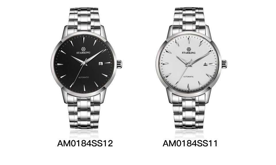 HTB12Dj7k1OSBuNjy0Fdq6zDnVXaf STARKING Automatic Watches Men Stainless Steel Business Wristwatch Leather Fashion 50M Waterproof Male Clock Relogio Masculino