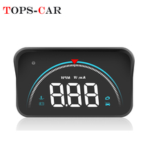 2019 New HUD M8 Better Than A100S Car Head Up Display OBD2 Overspeed Warning Auto Electronic Water Temperature