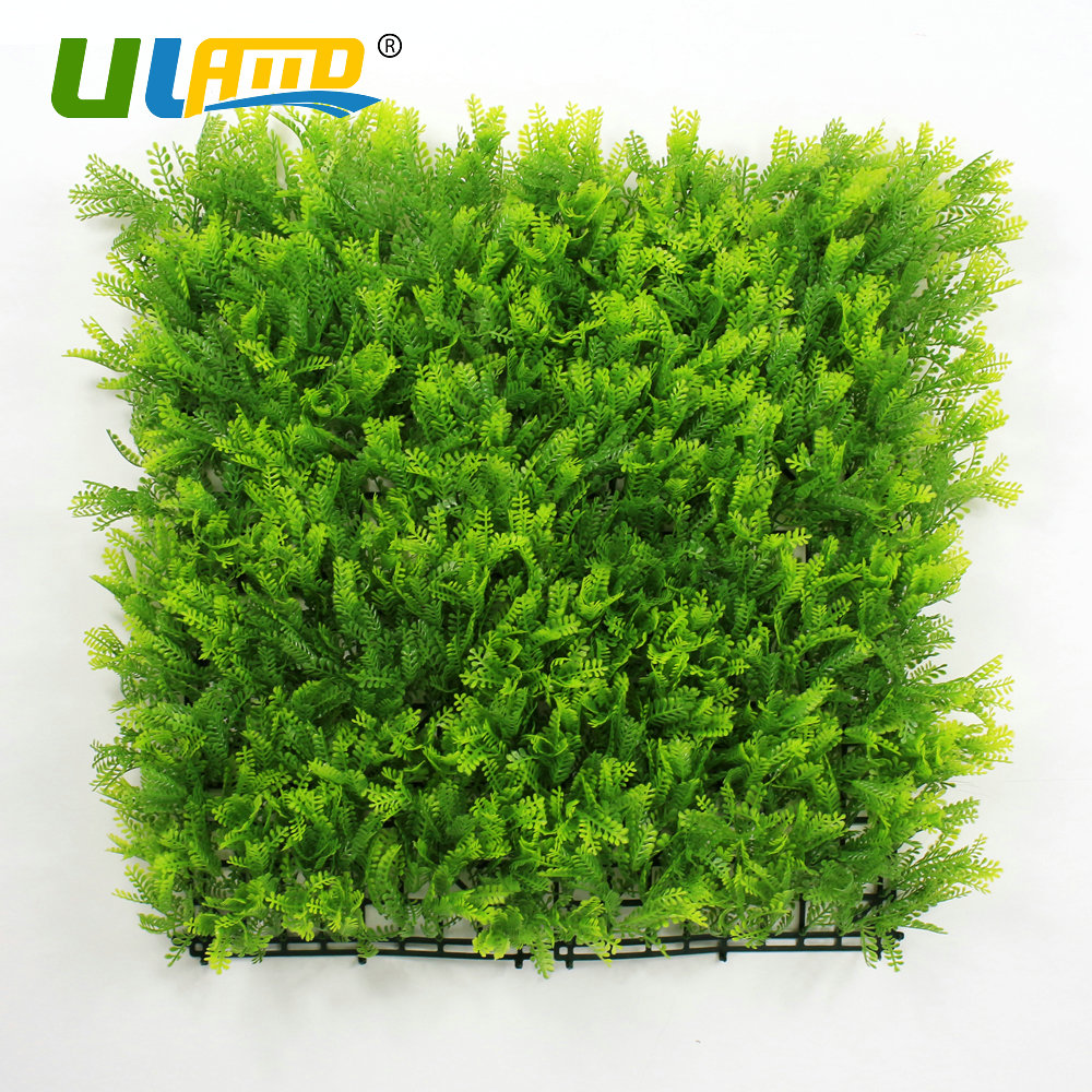 Online get cheap garden screening panels aliexpress alibaba uland 50x50cmpc artificial boxwood fence plastic hedge panels mat home wedding garden decoration wall cover privacy screening baanklon Choice Image