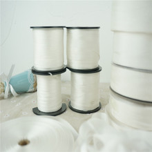 2mm--13mm undyed white 100% pure silk embroidery ribbon thin taffeta high quality Anya Ribbon Handcraft