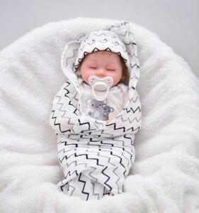 NPK noworodka Reborn lalki dla dzieci chłopcy silikonowe miękkie ciało śliczne laleczka bobas dla dziewczynek księżniczka Kid moda lalki bebe Reborn 40cm