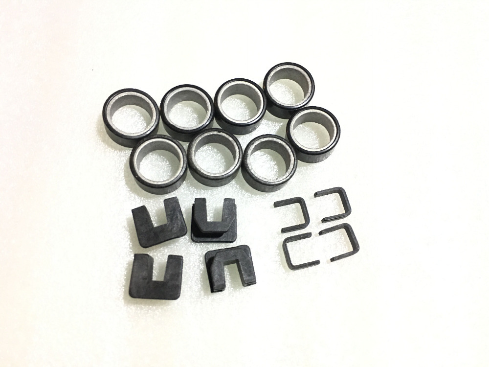Primary Clutch Weight Roller Sliders and Spacers For