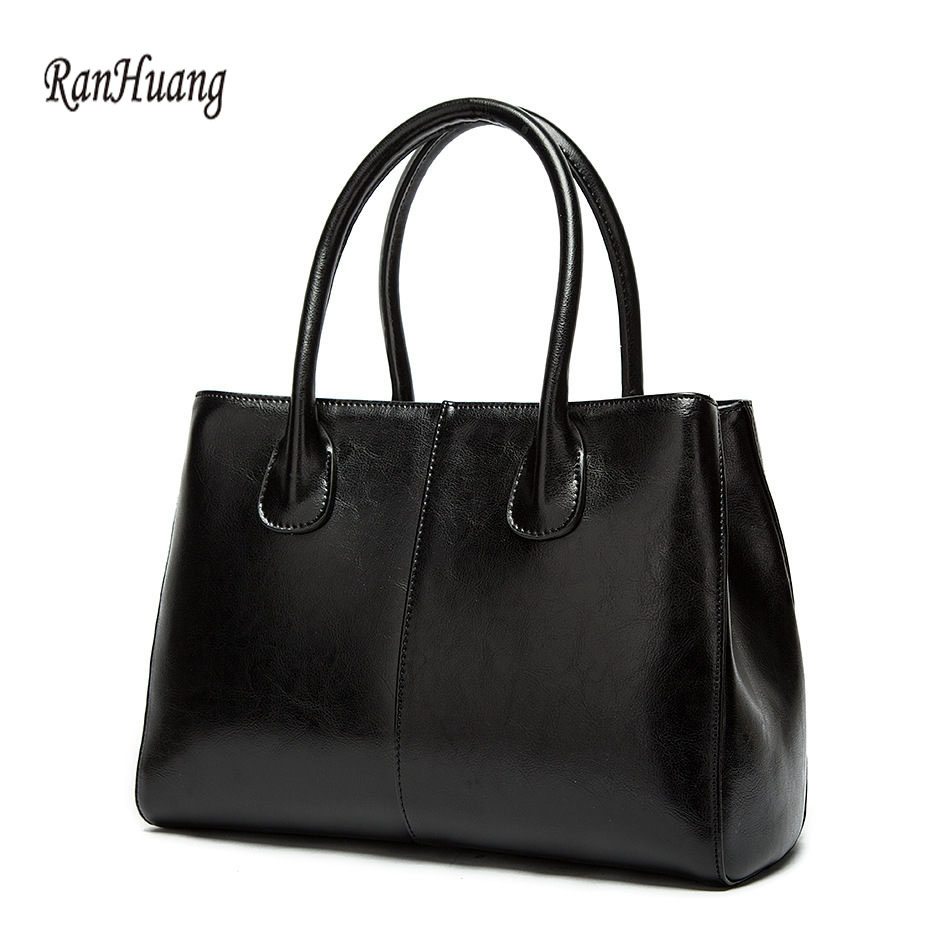 RanHuang New 2017 Women Genuine Leather Handbags High Quality Luxury Handbags Ladies Fashion Shoulder Bags Black Message BagsRanHuang New 2017 Women Genuine Leather Handbags High Quality Luxury Handbags Ladies Fashion Shoulder Bags Black Message Bags