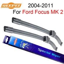 Щетка стеклоочистителя Qeepei для Ford Focus 2 2004-2011 26 ''+ 17''R высокое качество Iso9000 натуральный каучук чистота переднего лобового стекла CPA201-1