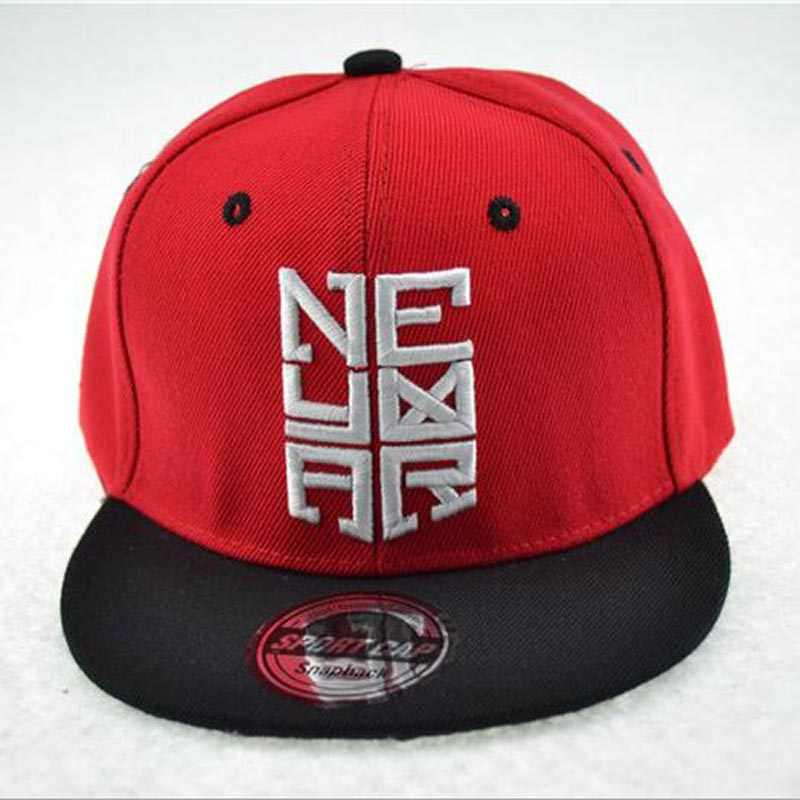 Nueva moda hueso SnapBack CAPS gorra de béisbol bordada plana skate hip hop  sombreros para niño a152d9c8bfa