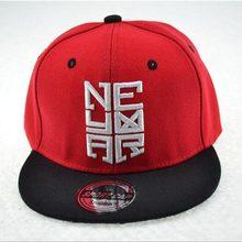 f117c2222da New Fashion Bone Snapback Caps Embroidered Baseball Cap Flat Panel Skate  Hip Hop Hats For child