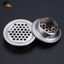 Ventilation-Cover Vents Cabinet Myhomera 6pcs Louver Wardrobe Mesh-Hole Stainless-Steel