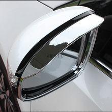 Para KIA Sportage QL 2016 2017 espejo retrovisor externo lluvia ceja decoración cubierta pegatina retrovisor Winddow viseras embellecedores