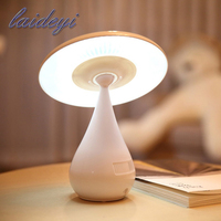 Novelty Mushroom Air Purifier Lamp Led Children To Read The Lovely Bedside Night Touch Control NightLight