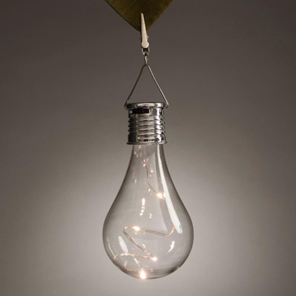 Solar Powered Hanging Ornamental Bulbs Light Garden Patio Edison Bulb - Edison Patio Lights Promotion-Shop For Promotional Edison Patio