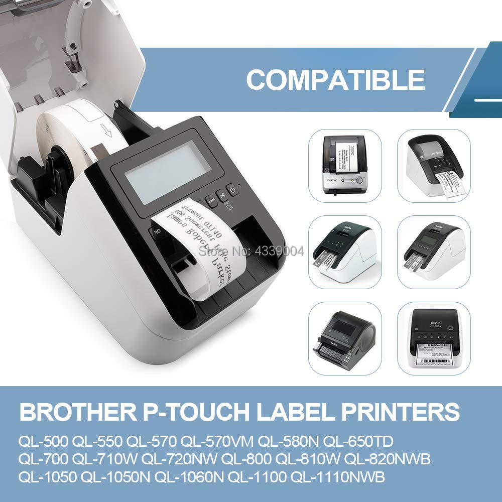 3 compatible with Brother DK11201 Address Labels QL 500 550 570 P-Touch Printers