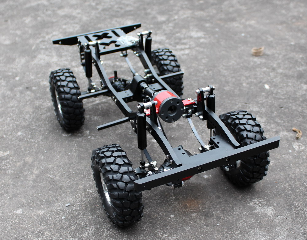 Full Alloy Carframe Chassis 1 10 Rc Crawler D90 In Parts