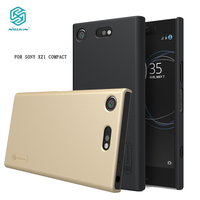 Nillkin Case voor Sony Xperia XZ1 Compact Mini Frosted Shield Hard Cover sFor Sony XZ1 Compact Case