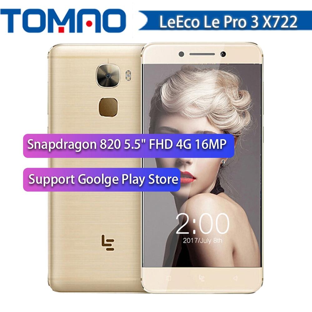Original 5 5 Letv Le Pro 3 X722 Snapdragon 820 Quad Core 4G RAM 32G ROM
