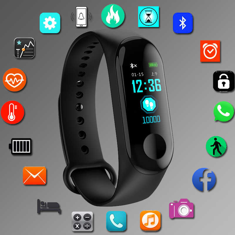 Sport Bracelet Smart Watch Men Women Smartwatch For Android IOS Fitness Tracker Electronics Smart Clock Smart-watch Waterproof