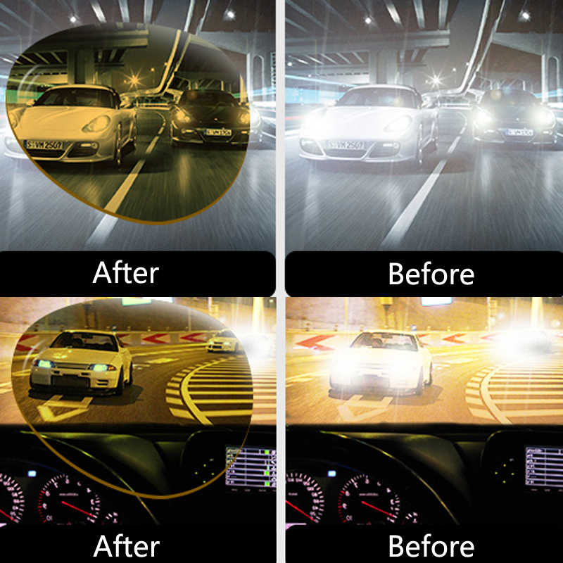 Mobil Malam Visi Kacamata Sopir Kacamata Polarizer Kacamata Hitam untuk Hyundai Solaris Bisa Ix35 I20 Elantra Santa Fe Tucson Getz