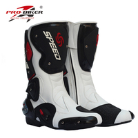 Pro long design motorcycle ride shoes off road boots male Women automobile race shoes off road motorcycle ride boots