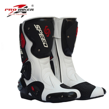 Pro long design motorcycle ride shoes off-road boots male Women automobile race shoes off-road motorcycle ride boots