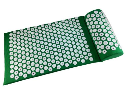 1 Set Acupuncture Massage Spike Yoga Mat with Pillow Yoga Acupressure Cushion+Pillow Body Massager Muscle Pain Stress Relief Mat povihome 1set massage cushion acupressure therapy mat relieve stress pain relief acupuncture spike yoga mat with pillow d06874