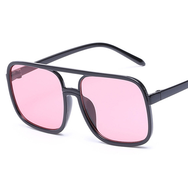 d1a9f79a16 2019 Retro Square Sunglasses Men Women Brand Designer Reflective Coating  Sun Glasses Goggle Square Spied SunGlasses Male
