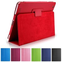 Zimoon For Apple Ipad Air 1 2 Magnetic Auto Wake Up Sleep Flip Litchi Leather Case