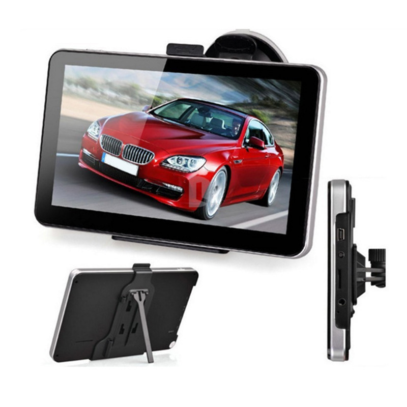 New 7 inch Car GPS Navigation 8GB TFT Touch Screen Bluetooth FM MP3/WMA HD Worldwide Map with Sun Shield st e181 7 0 capacitive screen android 4 1 1 hd dvr car gps navigator fm 8gb usa canada map black