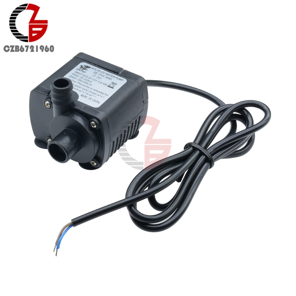 6-12V Hot Water Circulation DC Pump Brushless Motor Pump /& 12V 3A Transformer