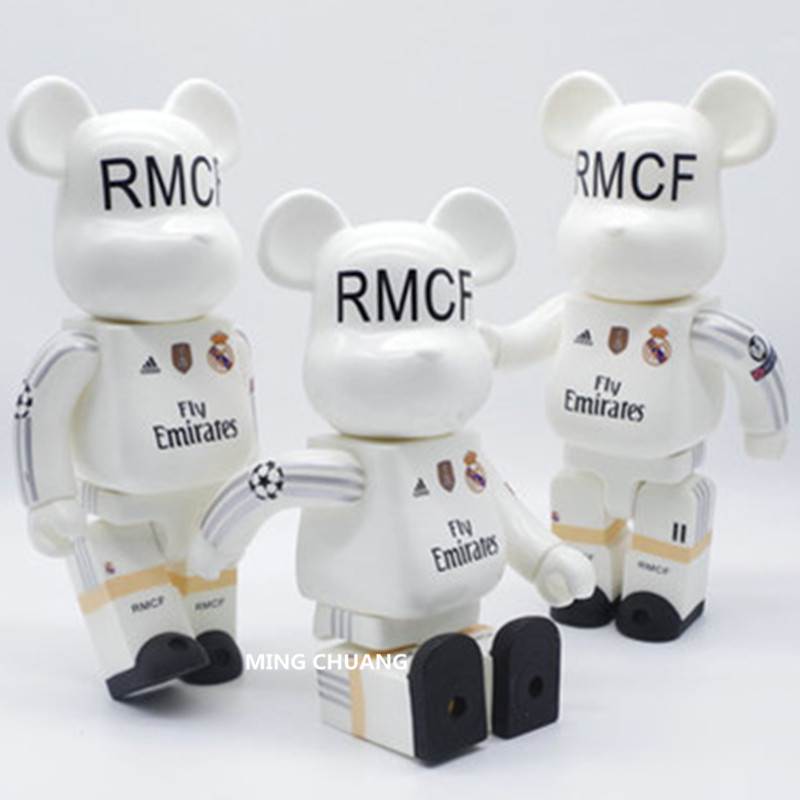 11 Inches Be@rbrick 400% Bearbrick SOCCER Gloomy BB PVC Action Figure Collectible Model Toy D218 ...