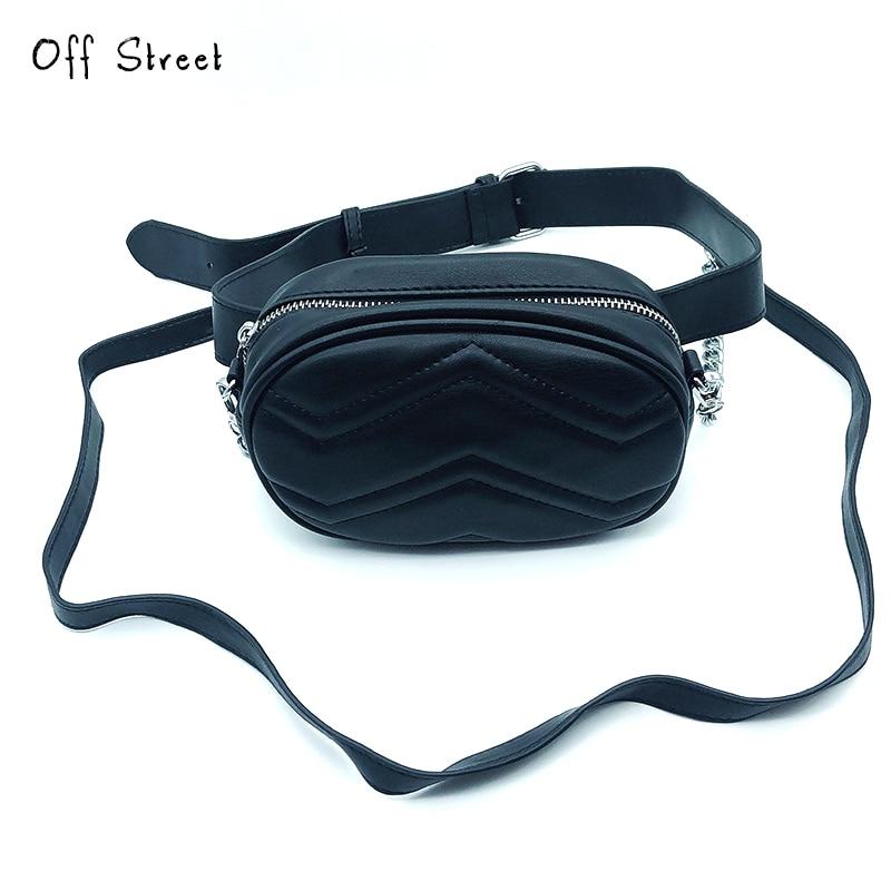 Fashion New Women Waist Pack Crossbody Bag Femal Belt Bag Phone Pouch Bags Brand Design Women Envelope Bags For Ladies Girls