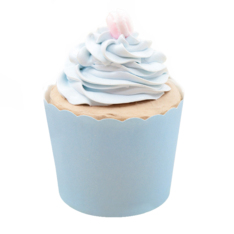 50PCS Pure Color Light Blue Yellow Purple Paper Cupcake  Liner Baking Tool Muffin Cup Case Tray Cake Mold Wedding Birthday Party