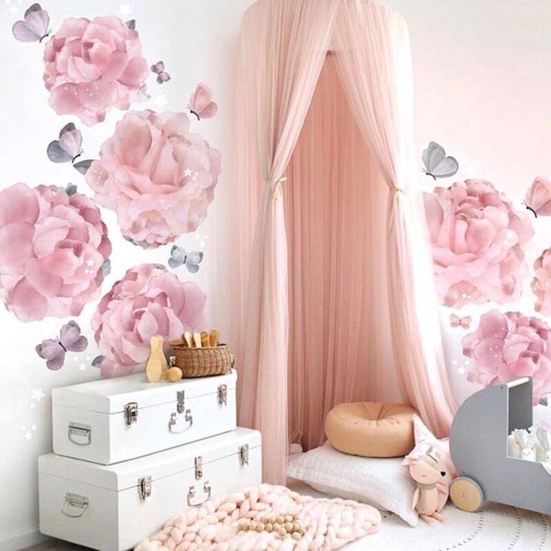 Beau bébé chambre décor mur fantaisie suspendus manteau filets tentes enfants chambre décorations photographie accessoires meilleur ornement cadeaux