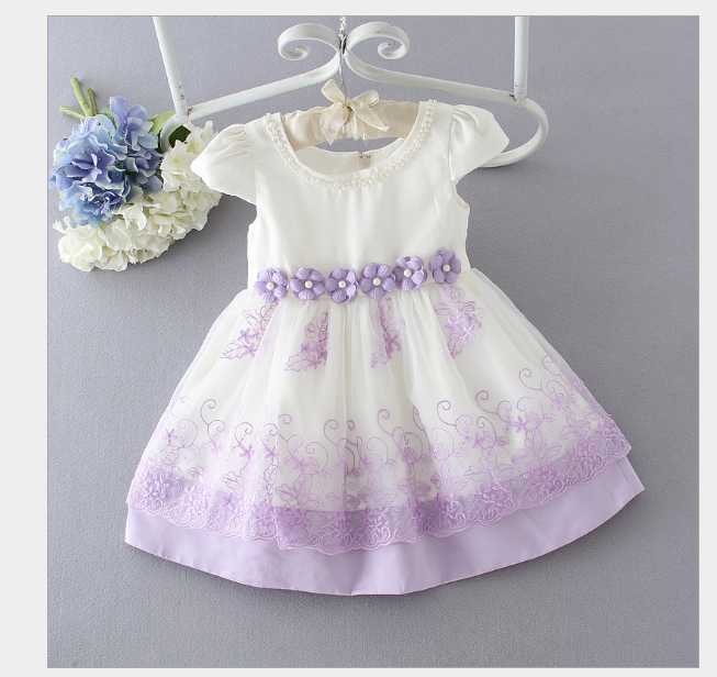 2017 spring and summer new children's short-sleeved lace edge girl princess puff dress spring new women long dress nightgowns white short sleeved nightdress royal vintage sweet princess sleepwear dress free shipping