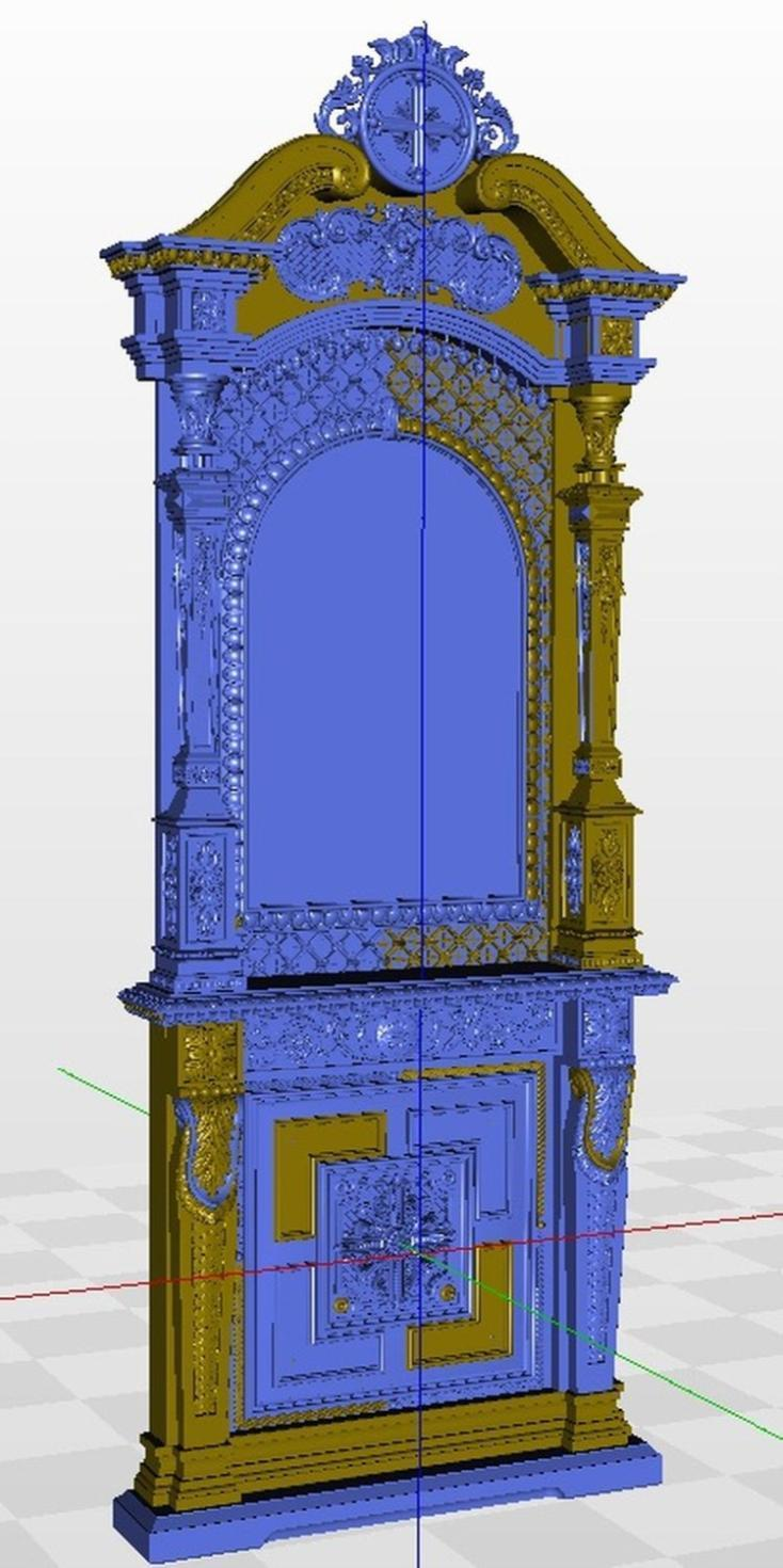 Kiot_7 3d Model Relief  For Cnc In STL File Format