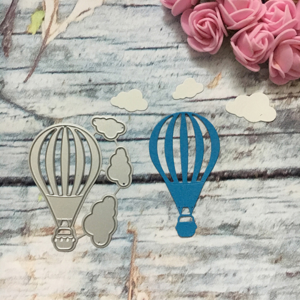Aliexpress.com : Buy Fly Hot air balloon Clouds Template Pattern DIY ...