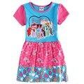 Девушки летом платье хлопка детей мой пони мультфильм платья одежда для девочек детей 100% хлопок туту платье для девочек-младенцев H6570