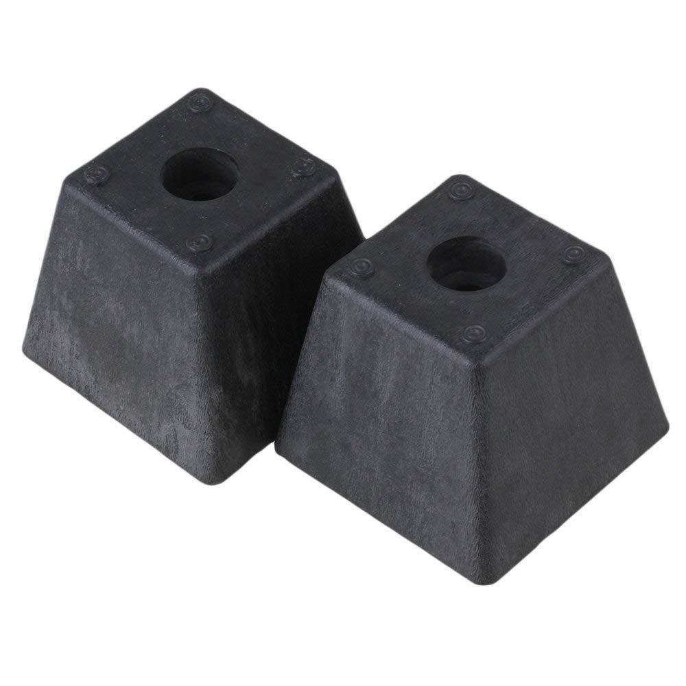 Black Plastic Trapezoid Sofa Couch Furniture Legs Feet Pack of 4Black Plastic Trapezoid Sofa Couch Furniture Legs Feet Pack of 4