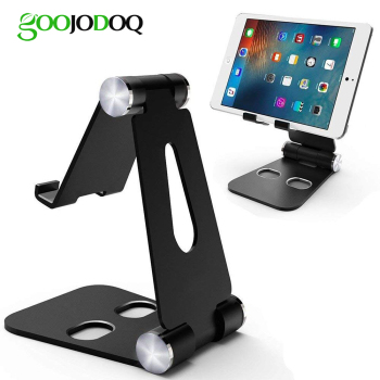 Foldable Multi-Angle Stand for Tablet Phone Video Game Dock for Nintendo Switch iPhone X 8 7 6 Plus iPad Tablets 4-10