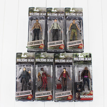 7styles set AMC series 3 The Walking Dead Negan Action Figure toy Abraham Ford Bungee Walker Rick Grimes Michonne collectible