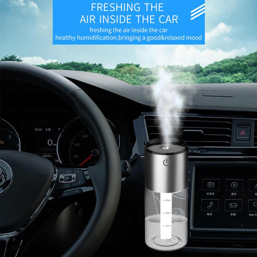 Аксессуар Ароматерапия Прочный USB диффузор увлажнитель автомобиля авто-ВЫКЛ туман очистки воздуха автомобиля 100 мл Арома эфирное масло