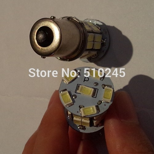 30X auto led car 1156 bulb led lighting 30 smd 5630 30 leds P21W 12v white Turn Signal Light Lamp free shipping